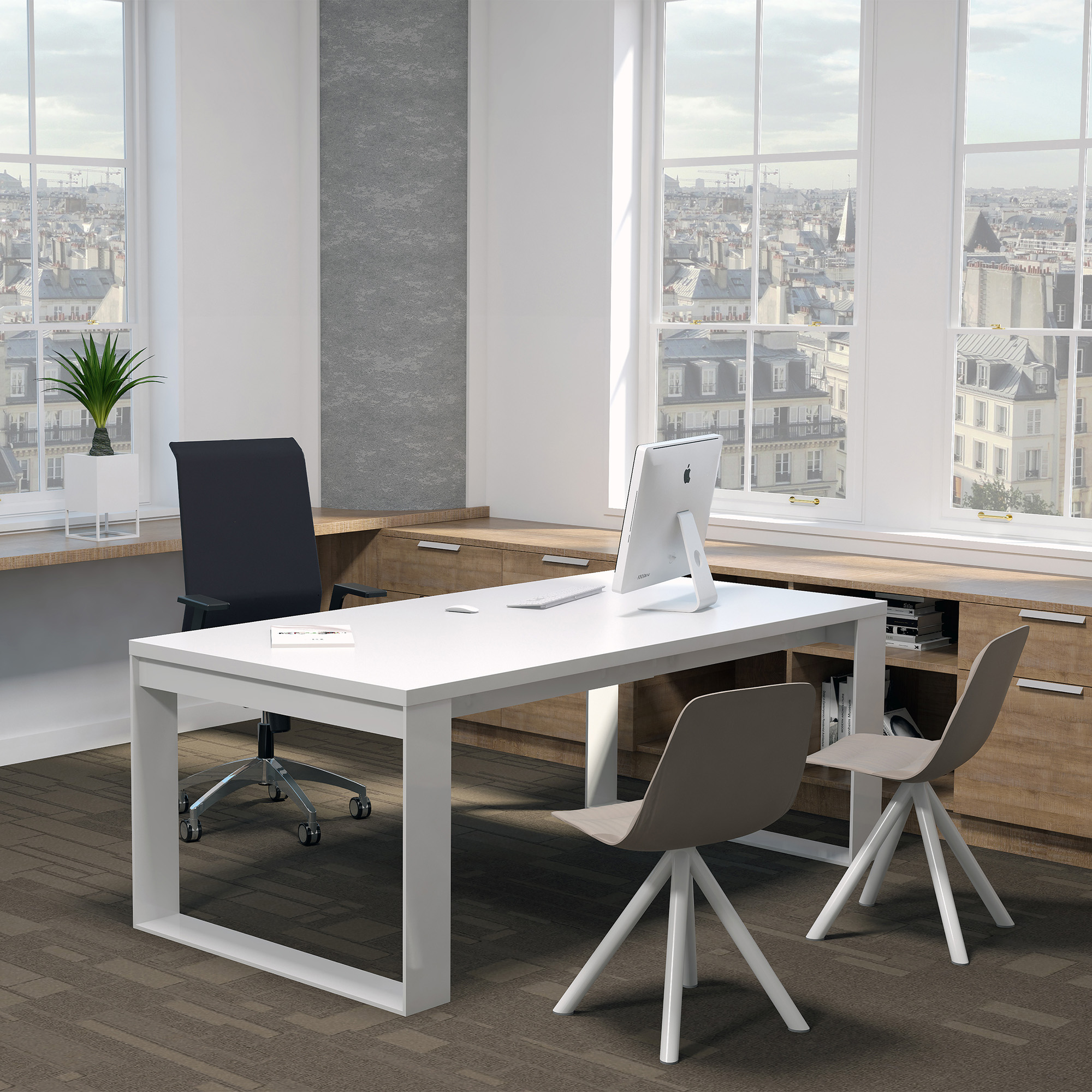 Office concept ameublement et agencement de bureau en for Bureau de direction